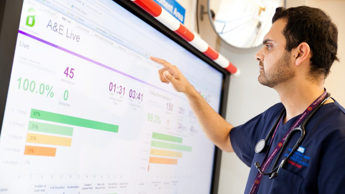 David Bolton Qliks Vice President Industry Solutions Marks The 70th Anniversary Of NHS By Looking At Transformative Possibilities Data Analytics